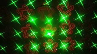 Лазерная цветомузыка(Проекция мини лазерной установки