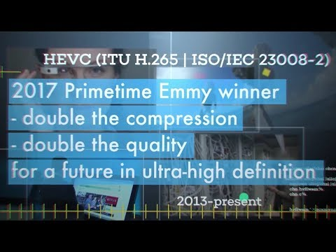 H.265/HEVC Primetime Engineering Emmy Award