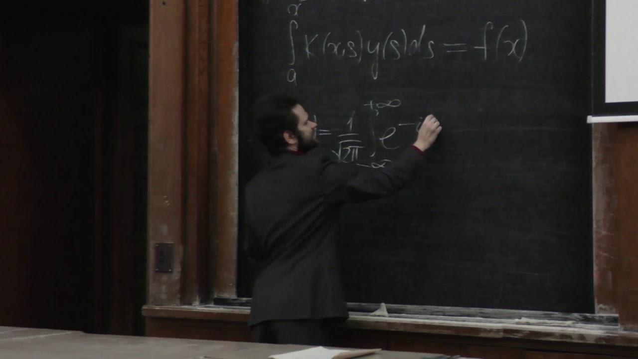 Панин А. А. - Интегральные уравнения и вариационное исчисление - Лекция 1