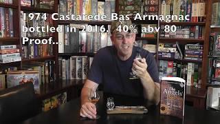 Blind Quick Hitter from Bart '1974 Castarede Bas Armagnac brandy' Scotch Test Dummies