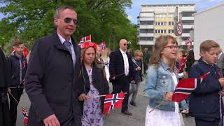 17. Mai 2018 barnetog i Halden