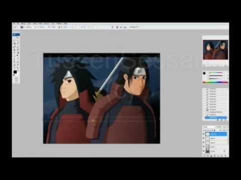 Speed Painting Naruto: Madara Uchiha & Hashirama Senju