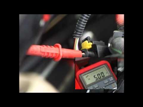 RAC How to Test a Fiat Doblo 1300 Multijet Manifold Absolute Pressure Sensor MAP