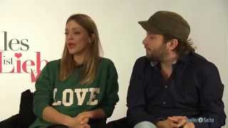Heike Makatsch und Christian Ulmen Exklusiv Interview zu Alles Ist Liebe