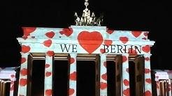 Festival of Lights Berlin 2019   Brandenburg Gate, Humboldt University, Potsdamer Platz,Fernsehturm 