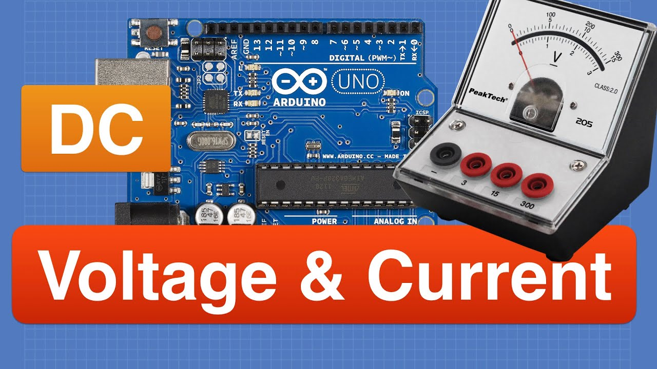 Measure DC Voltage and Current with Arduino