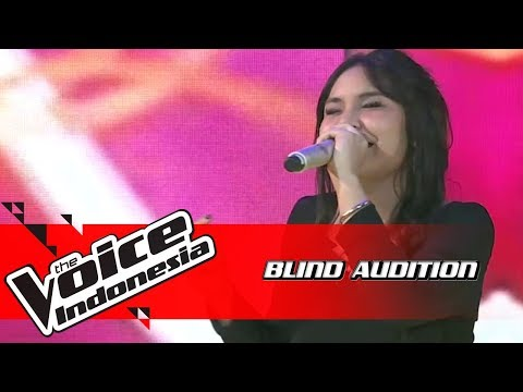 Thalia - Pacar 5 Langkah | Blind Auditions | The Voice Indonesia GTV 2018