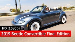 2019 Beetle Convertible Final Edition - 2019 Beetle Final Edition (Road Drive)