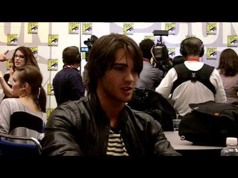 SDCC 2010 - The Vampire Diaries - Steven R. McQueen Interview