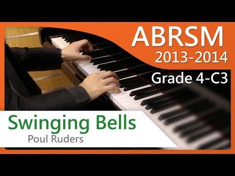 [青苗琴行] ABRSM Piano 2013-2014 Grade 4 C3 Poul Ruders Swinging Bells {HD}