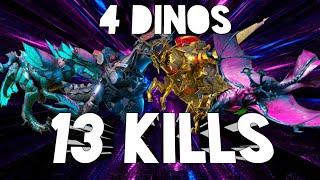 JMW Dino War 31- Using 4 Aweso…