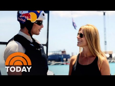 How Oracle Team USA Prepares For America's Cup In Bermuda | TODAY