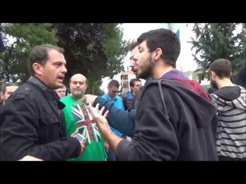 επίθεση στη Νεολαία ΣΥΡΙΖΑ στο Ωραιόκαστρο