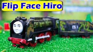 THOMAS AND FRIENDS TRACKMASTER FLIP FACE TALKING HIRO Thomas The Tank Toy Trains HERO OF THE RAILS