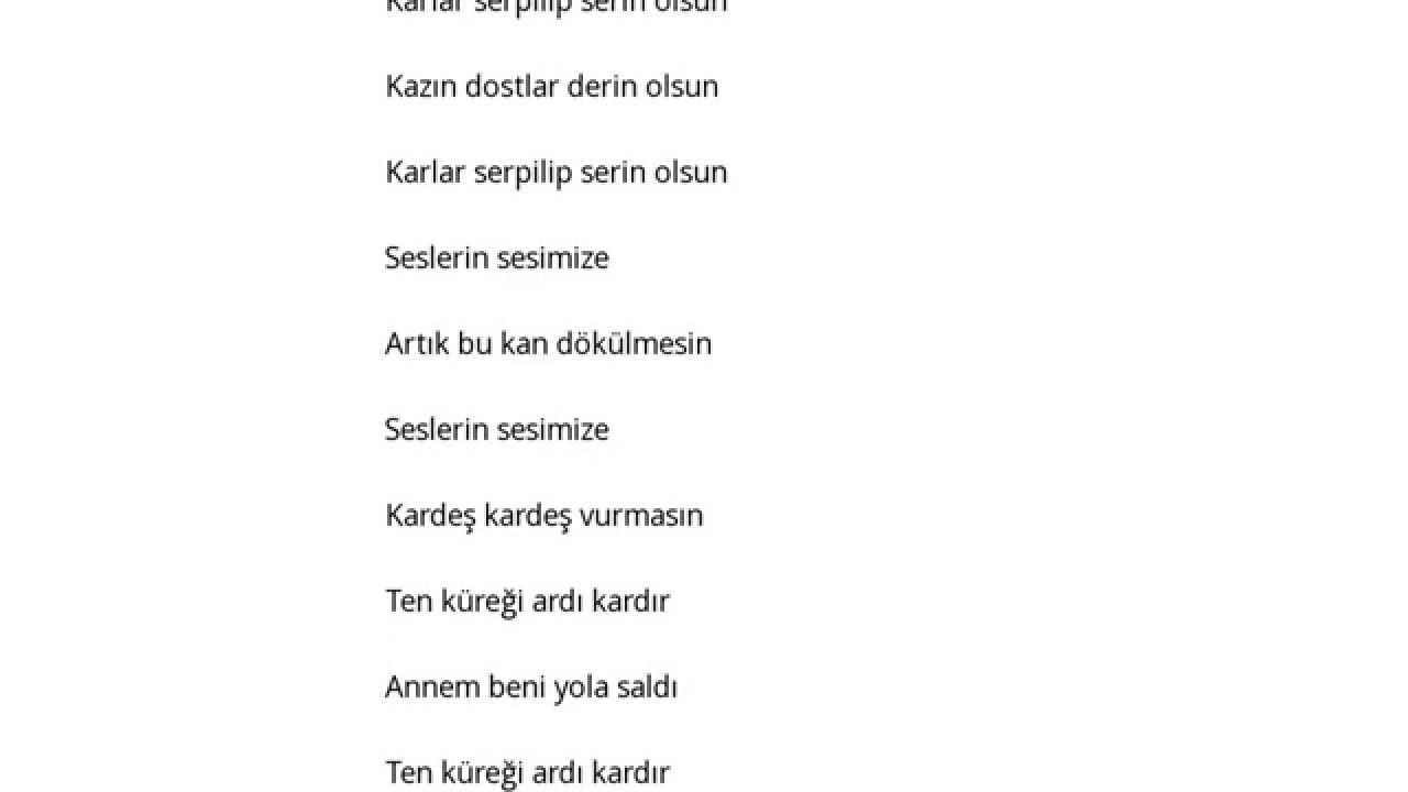 Harun Gümüş Annem şarkı Sözleri Lyrics Youtube