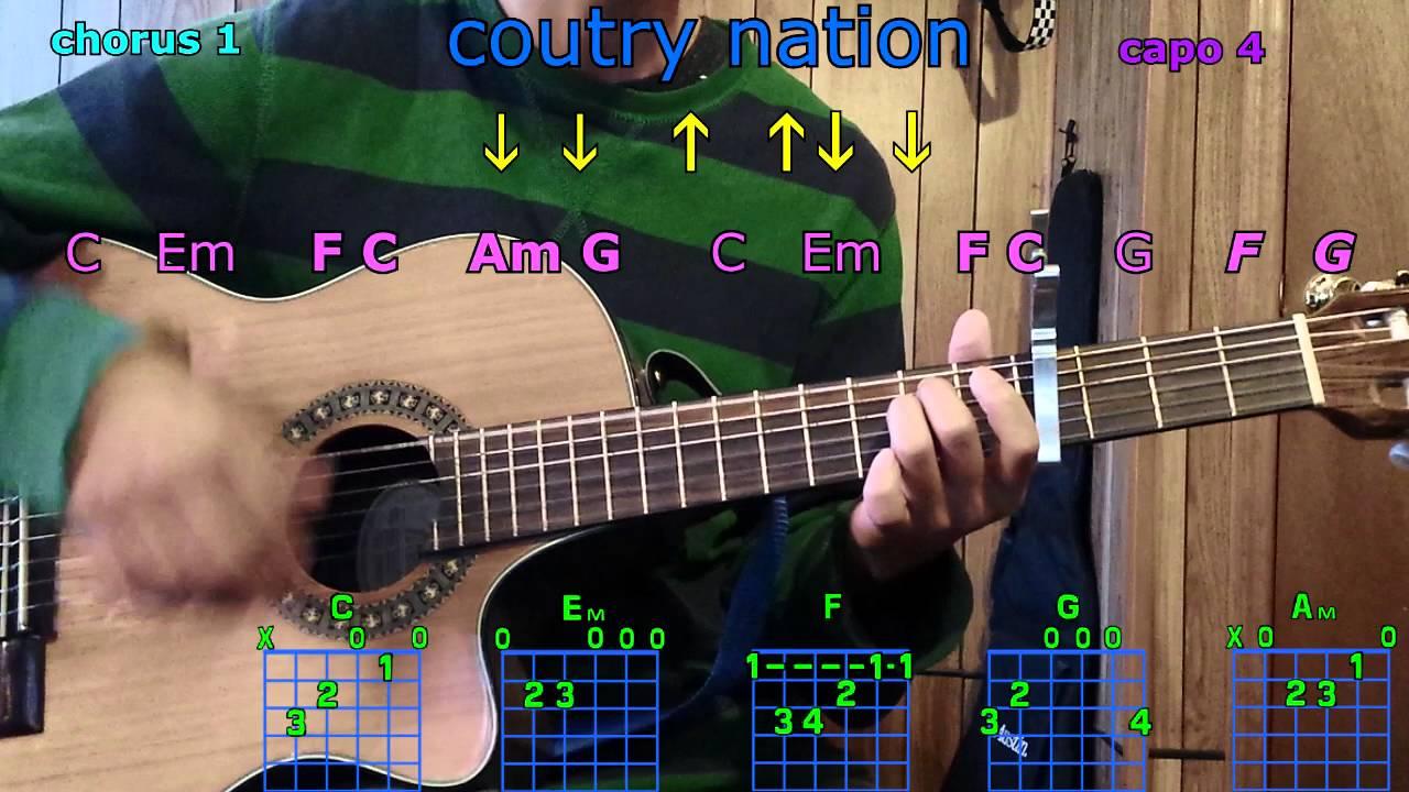 Dorable Brad Paisley Guitar Chords Crest Beginner Guitar Piano