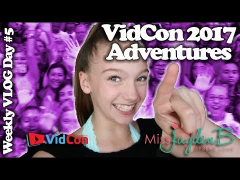 VidCon Musically 2017 Adventures Weekly Vlog Day 5!