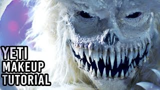 ABOMINABLE SNOWMAN / YETI - FX Makeup Tutorial