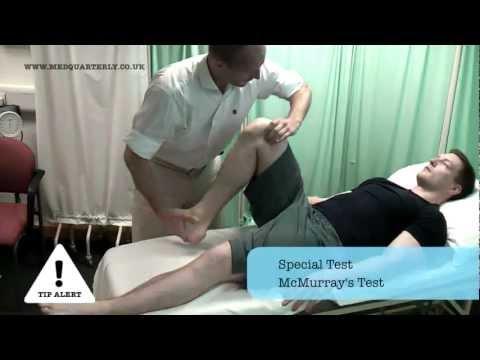 Knee OSCE Examination