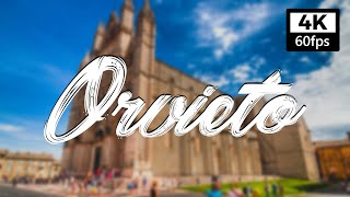 【4K】ORVIETO Walking Tour