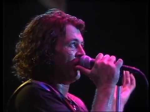 Deep Purple record the film clip for Knockin' At Your Back Door in 1984.