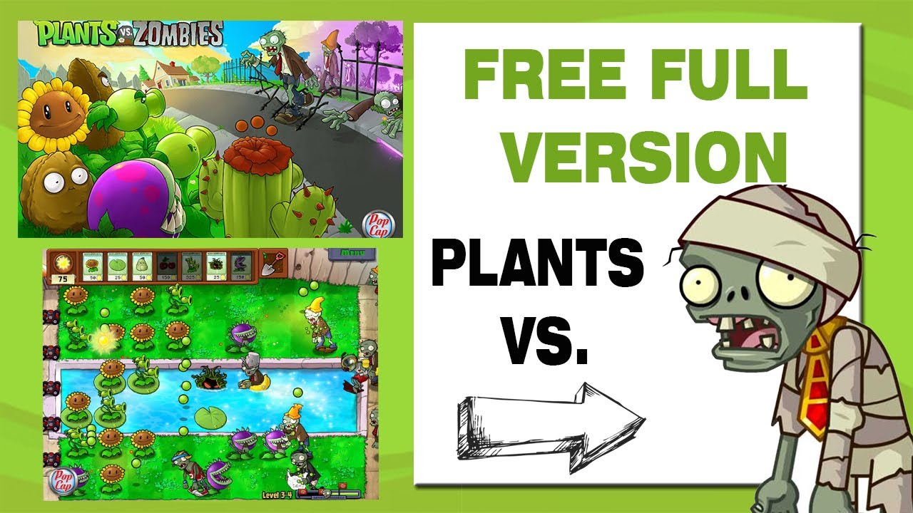 download plants vs zombies full version free for pc windows 7