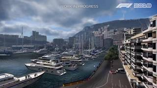 F1 2018 Gameplay Footage Of Monaco Review