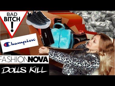 mega-haul---fashion-nova-&-dolls-kill-//-instabaddie-aga-odavalt