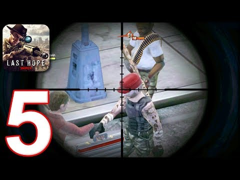 LAST HOPE SNIPER - ZOMBIE WAR - Walkthrough Gameplay Part 5 - BLACKMAIL (Android Games)