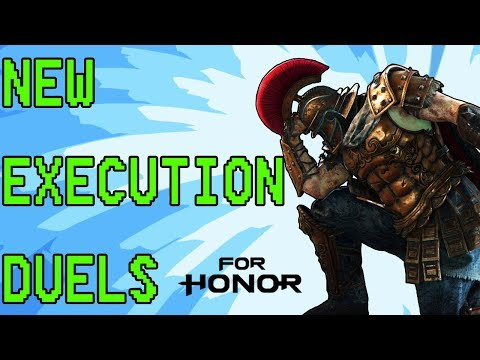 [For Honor] Centurion Duels - New Execution