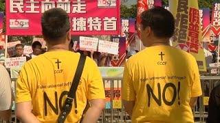 Hong Kong Protests Over Universal Suffrage Bill