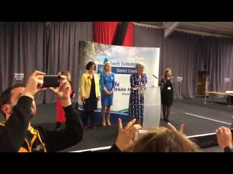 Lib Dem/Layla Moran election results.
