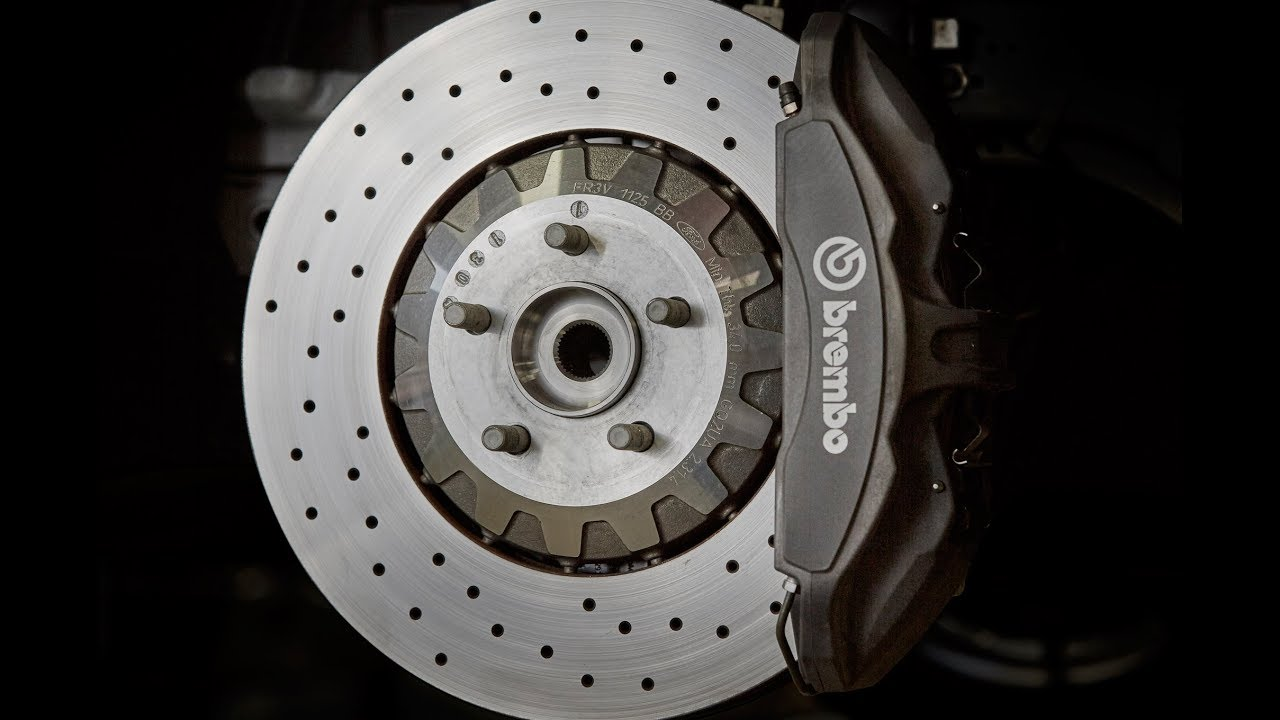 Brembo Brake Pads >> Shelby GT350 Brembo Brake Squeal Solution | Auto Fanatic - YouTube