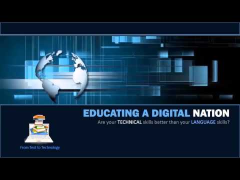 Educating a Digital Nation From Text to Technology in ESL for Language Canada 2014