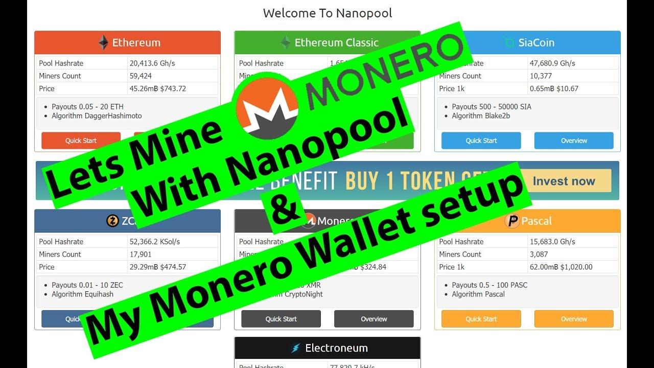 Monero Mining on Nanopool tutorial  Fix for