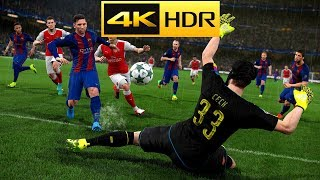 4K - HDR PRO EVOLUTION SOCCER 2018 GAMEPLAY MAX GRAPHICS PC