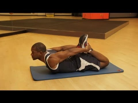 Stretching the Upper Abdomen for Males : Fitness & Muscle Building