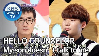 Download lagu My son doesn't talk to me [Hello Counselor/ENG, THA/2019.10.07]