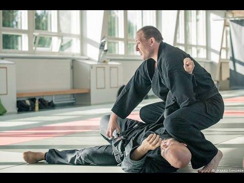 De Ashi Barai. Bushi Kempo Jujitsu Method.