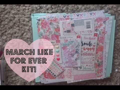 c840b5b25 Like For Ever Scrapbook Kit | March 2016. Like For Ever Scrapbook Kit |  March 2016. Hello Kitty scrap book all in one ...