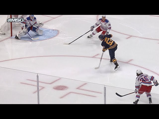Jeff Skinner drills one to the far side
