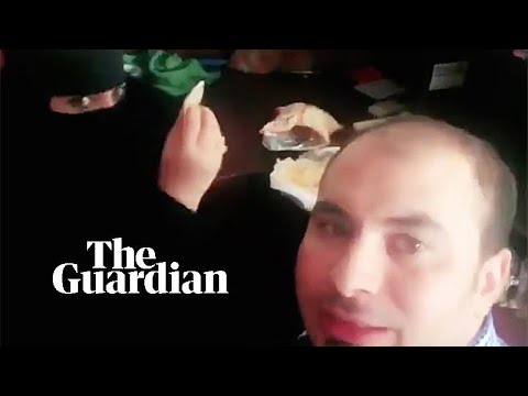 Saudi authorities arrest man who filmed himself eating with