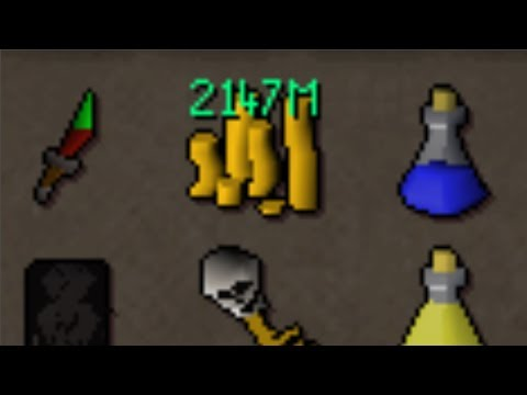 This Glitch Dropped 2147M Runescape Gold
