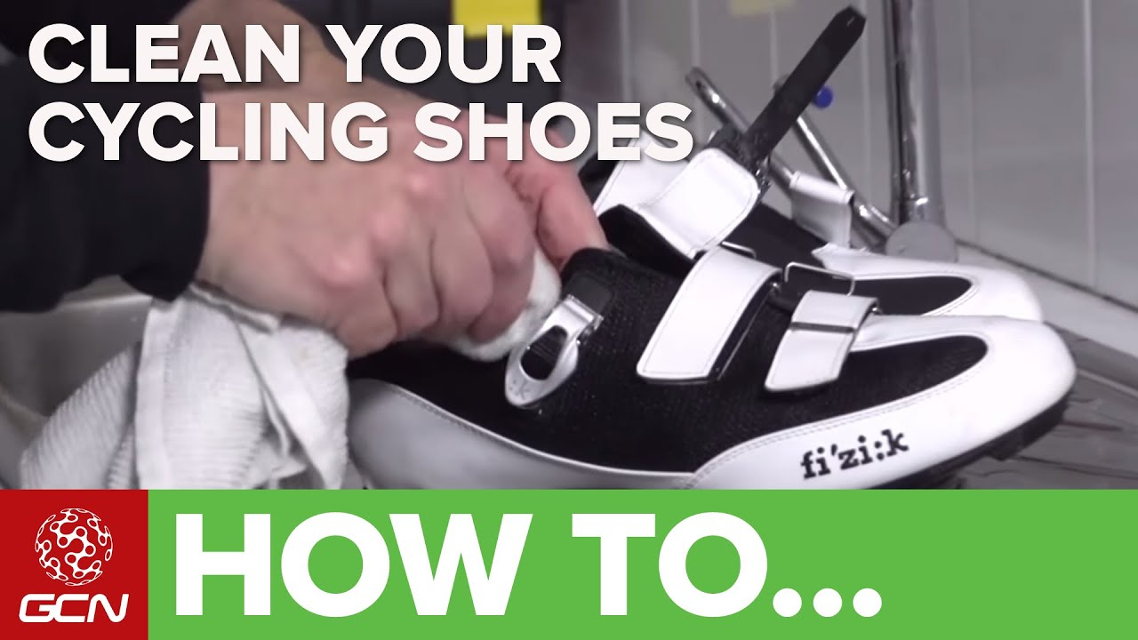 864a3eb6bb8 How To Clean Your Cycling Shoes - YouTube