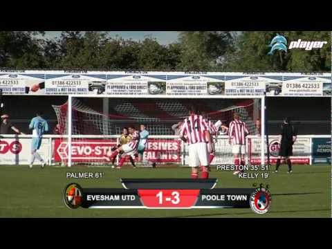 Evesham United v Poole Town F.C 6th October 2012