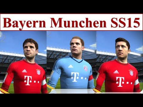 I Love FO3 | Đội Hình Bayern Munich SS15 Trong Fifa Online 3 2016 | Muller, Robben, Lewandowski SS15