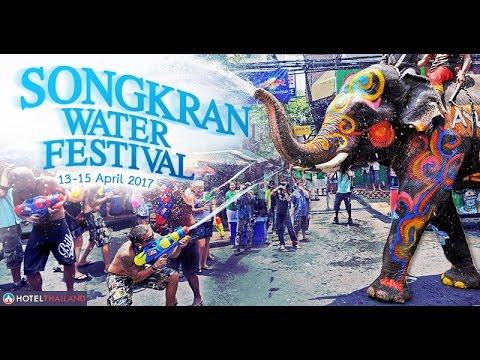 SONGKRAN 2017- Water festival   Vblog   Thailand  Bangkok   Pattaya   SJCAM 5000X ELITE