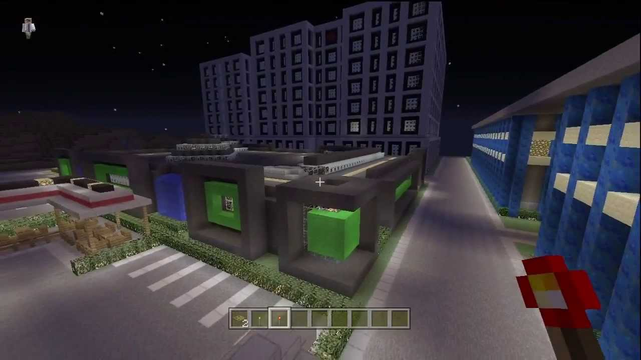Minecraft Modern NightClub Tour Xbox With Download YouTube