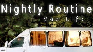 VAN LIFE Night Routine | Living In A Van In Hawaii