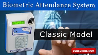 Biometric Attendance  Security | Fingerprint Attendance | Star Classic Model